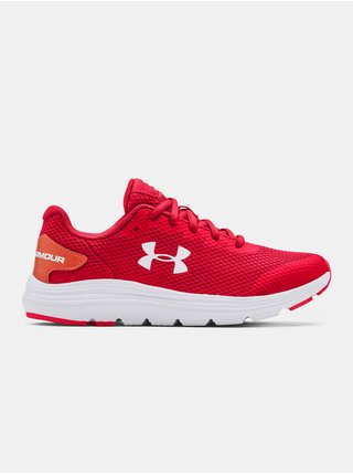 Boty Under Armour UA GS Surge 2-RED