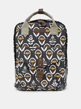 Tmavomodrý vzorovaný batoh Brakeburn