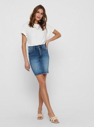 Modrá pouzdrová džínová sukně ONLY Blush