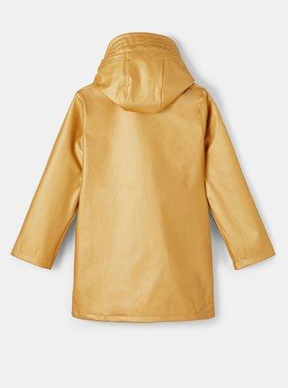 Žltá dievčenská vodeodolná bunda name it Dry