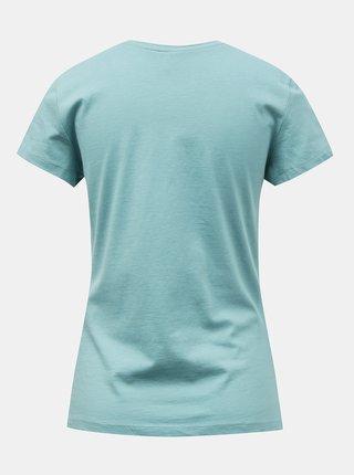 Světle modré tričko s potiskem ONLY Macy