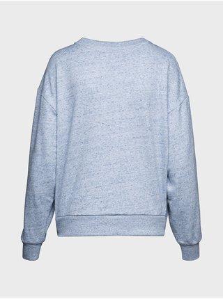 Modrá dámská mikina GAP Logo crewneck sweatshirt