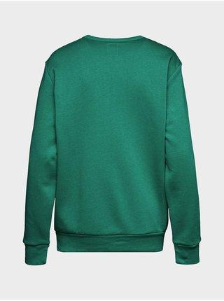 Zelená pánská mikina GAP Logo pullover sweatshirt