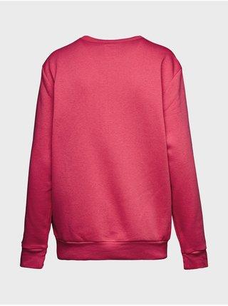 Červená pánská mikina GAP Logo pullover sweatshirt