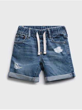 Modré klučičí baby kraťasy v-po md dst shorts