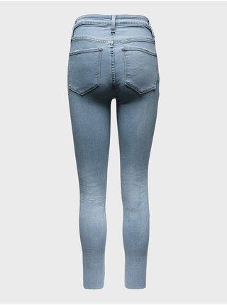 Modré dámské džíny universal jegging high rise delancey