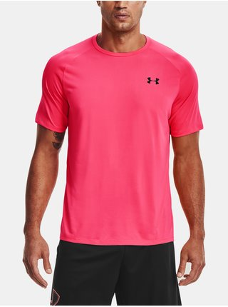 Tričko Under Armour Tech 2.0 SS Tee - růžová