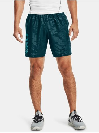 Kraťasy Under Armour Woven Emboss Shorts-BLU