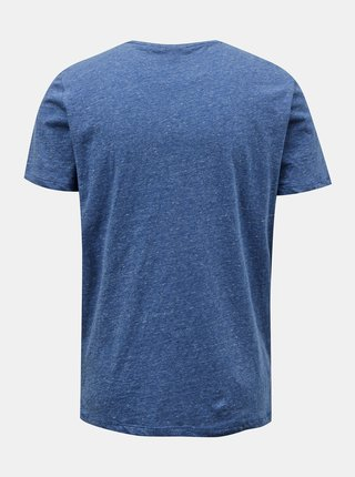 Modré pánske tričko s vreckom ZOOT Sheldon