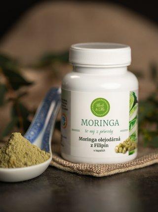 Moringa kapsle Herb & Me - Tříměsíční kúra (270 ks)