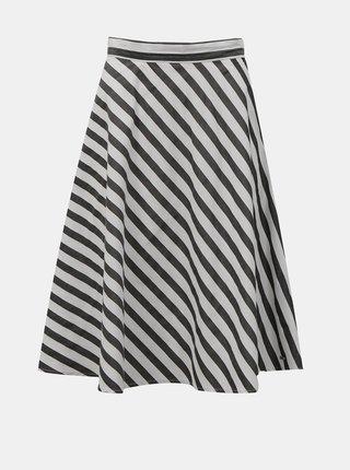 Bílo-černá pruhovaná sukně ZOOT Simona