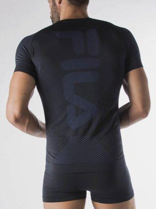 Tmavomodré pánske športové tričko FILA