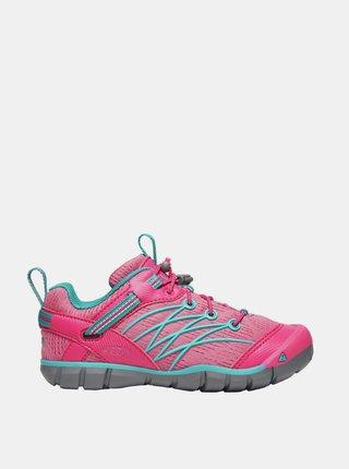 Ružové dievčenské tenisky Keen