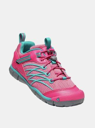 Růžové holčičí tenisky Keen