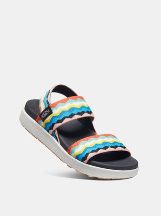 Žluto-modré dámské sandály Keen