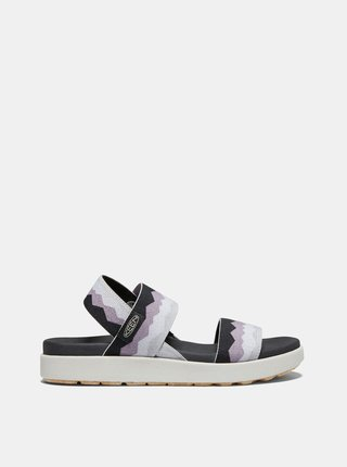 Čierno-šedé dámske sandále Keen