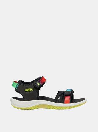Černé holčičí sandály Keen