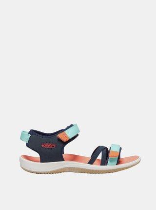 Modré holčičí sandály Keen