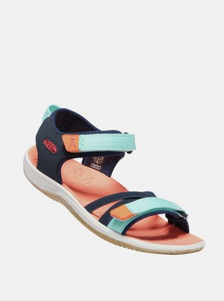 Modré dievčenské sandále Keen