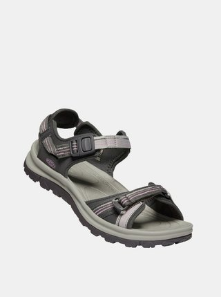Šedé dámske sandále Keen