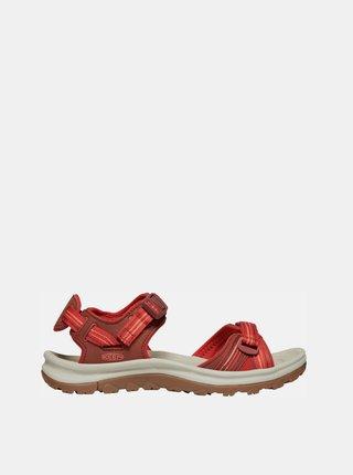 Červené dámské sandály Keen