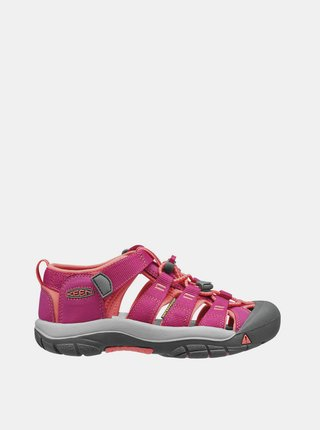 Ružové dievčenské sandále Keen