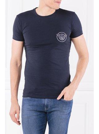 Pánské tričko 111035-8A595 černá - Emporio Armani černá