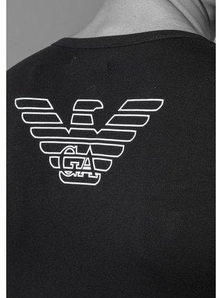 Pánské tričko 110810 CC735 00020 černá - Emporio Armani černá