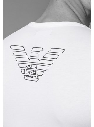 Pánské tričko 110810 CC735 00010 bílá - Emporio Armani bílá