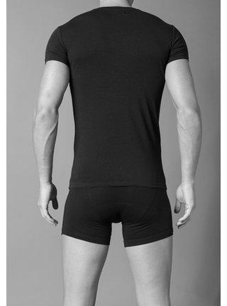 Pánské tričko 110810 CC729 00020 černá - Emporio Armani černá