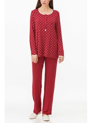 Dámské pyžamo 11161-316 červená - Vamp červená