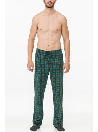 Pánské pyžamové kalhoty 11627 - Vamp zelená kostka