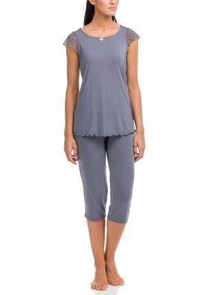 Dámské pyžamo Desdemona 12158-500 šedá - Vamp šedá