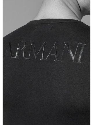 Pánské tričko 111035 CC716 00020 černá - Emporio Armani černá
