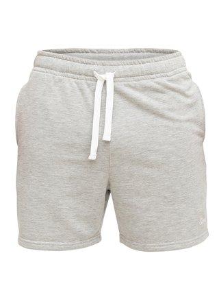 Slippsy sivé pánske kraťasy Light Gray Shorts Boy