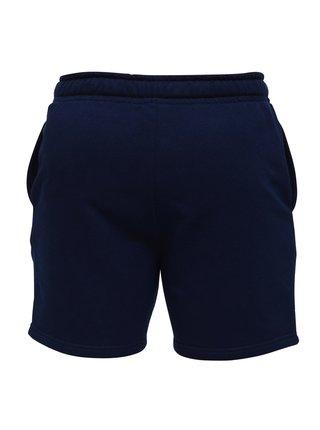 Slippsy tmavě modré pánské teplákové kraťasy Dark Blue Shorts Boy
