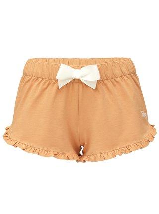 Slippsy béžové domácí kraťasy Beige Shorts Girl