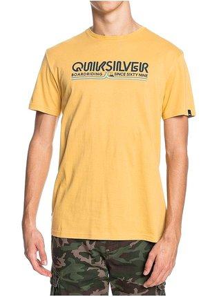 Quiksilver LIKE GOLD RATTAN pánské triko s krátkým rukávem - žlutá