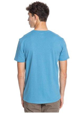 Quiksilver WIDER MILE BLUE HEAVEN pánské triko s krátkým rukávem - modrá