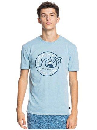Quiksilver INTO THE WIDE BLUE HEAVEN pánské triko s krátkým rukávem - modrá