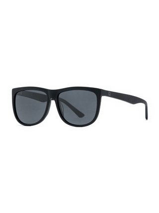 Horsefeathers GABE matt black/gray sluneční brýle pilotky - černá