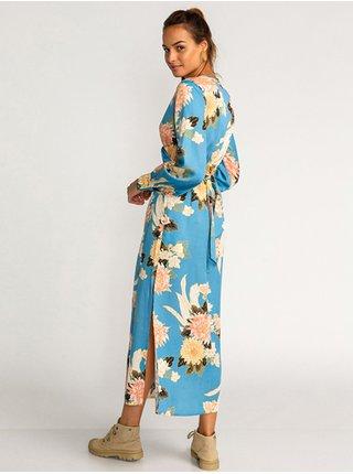 Billabong GOOD SIDE surf blue dlouhé letní šaty - modrá