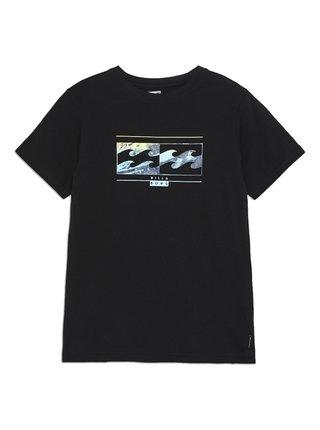 Billabong INVERSED black dětské triko s krátkým rukávem - černá