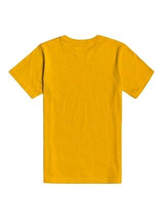 Billabong TRADEMARK MUSTARD dětské triko s krátkým rukávem - žlutá