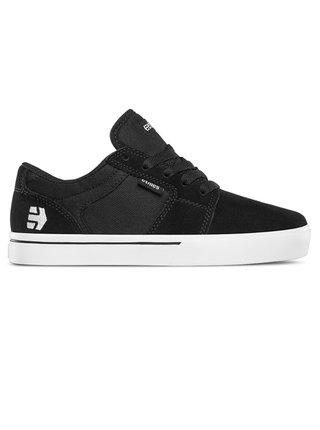 Etnies Barge LS black/white letní boty dětské - černá