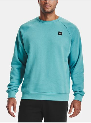 Mikina Under Armour UA Rival Fleece Crew-BLU