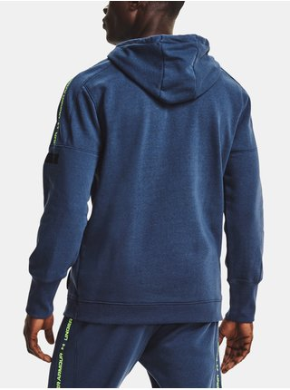 Mikina Under Armour Accelerate Off-Pitch Hoodie - modrá