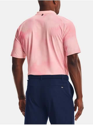 Tričko Under Armour UA Iso-Chill Afterburn Polo-PNK