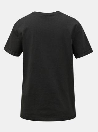 Černé basic tričko VERO MODA Paula