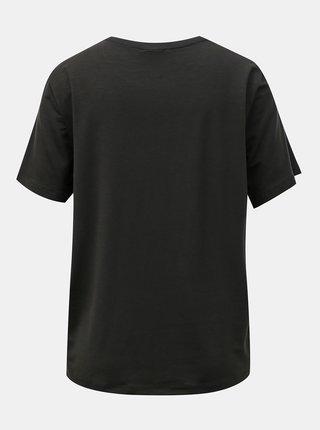 Černé tričko AWARE by VERO MODA Ava